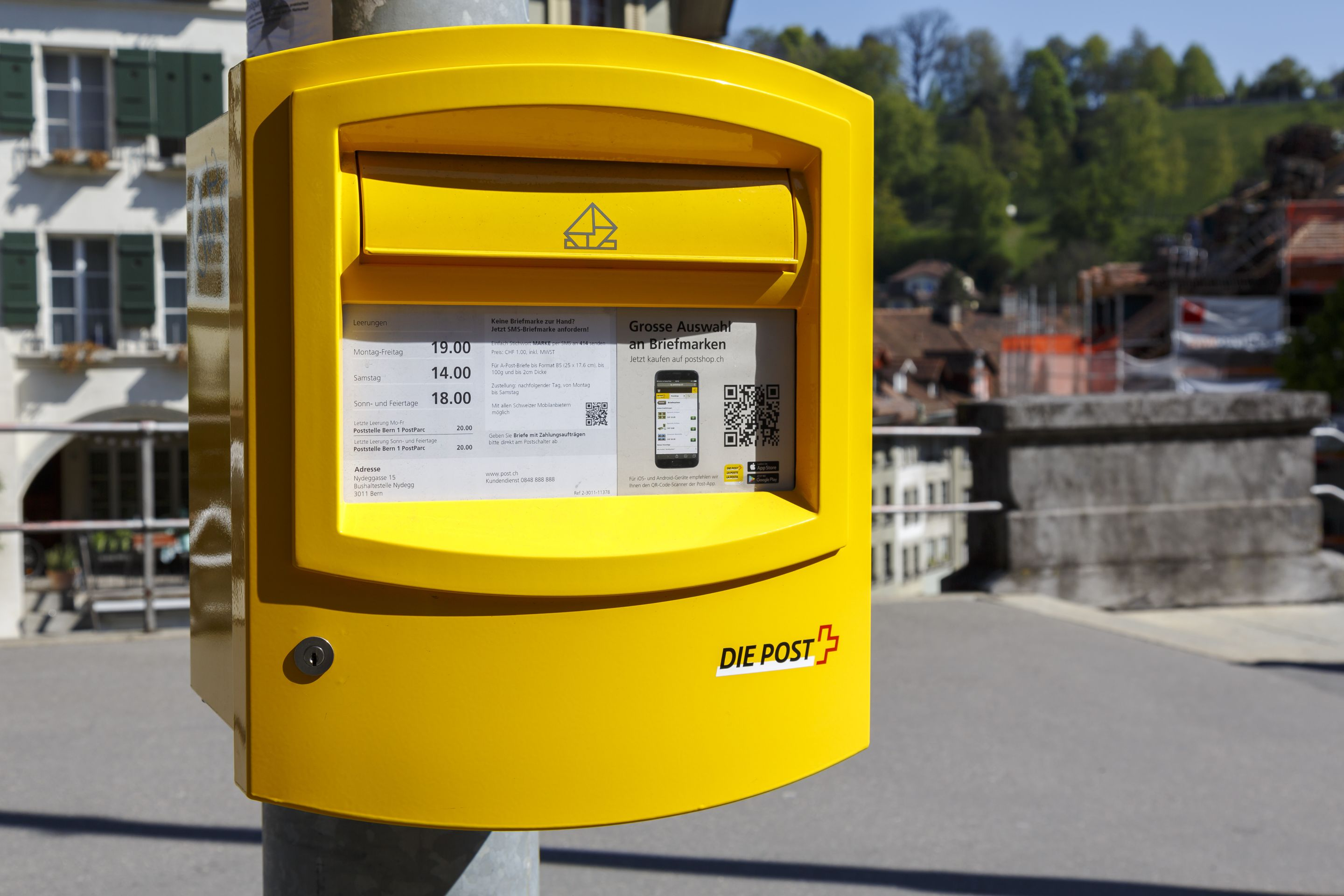 Swiss Post looks to the future